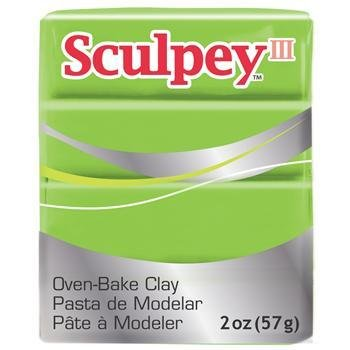 Polyform Sculpey III Granny Smith 2oz
