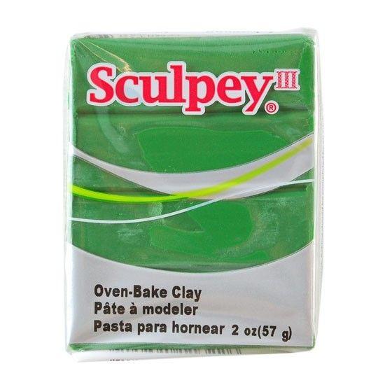 Polyform Sculpey III Leaf Green 2oz