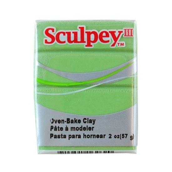 Polyform Sculpey III Moss 2oz