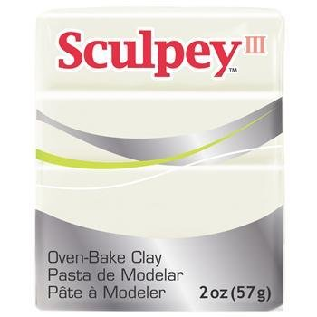 Polyform Sculpey III Pearl 2oz