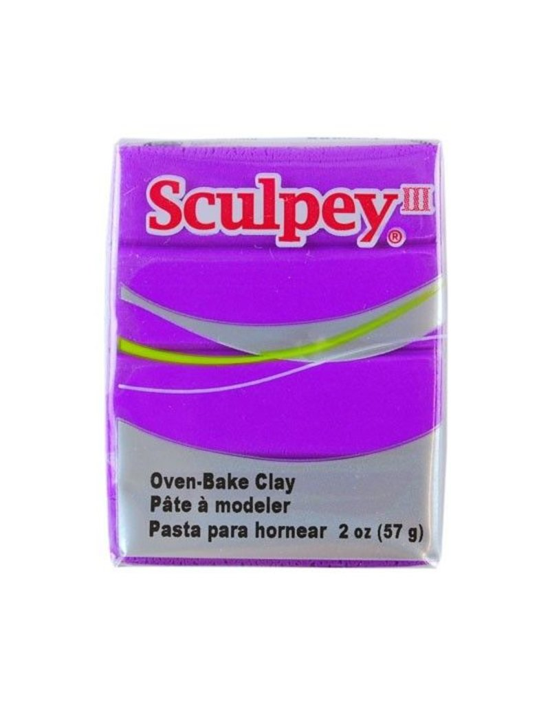 Polyform Sculpey III Purple 2oz