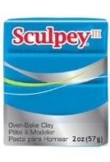 Polyform Sculpey III Turquoise 2oz