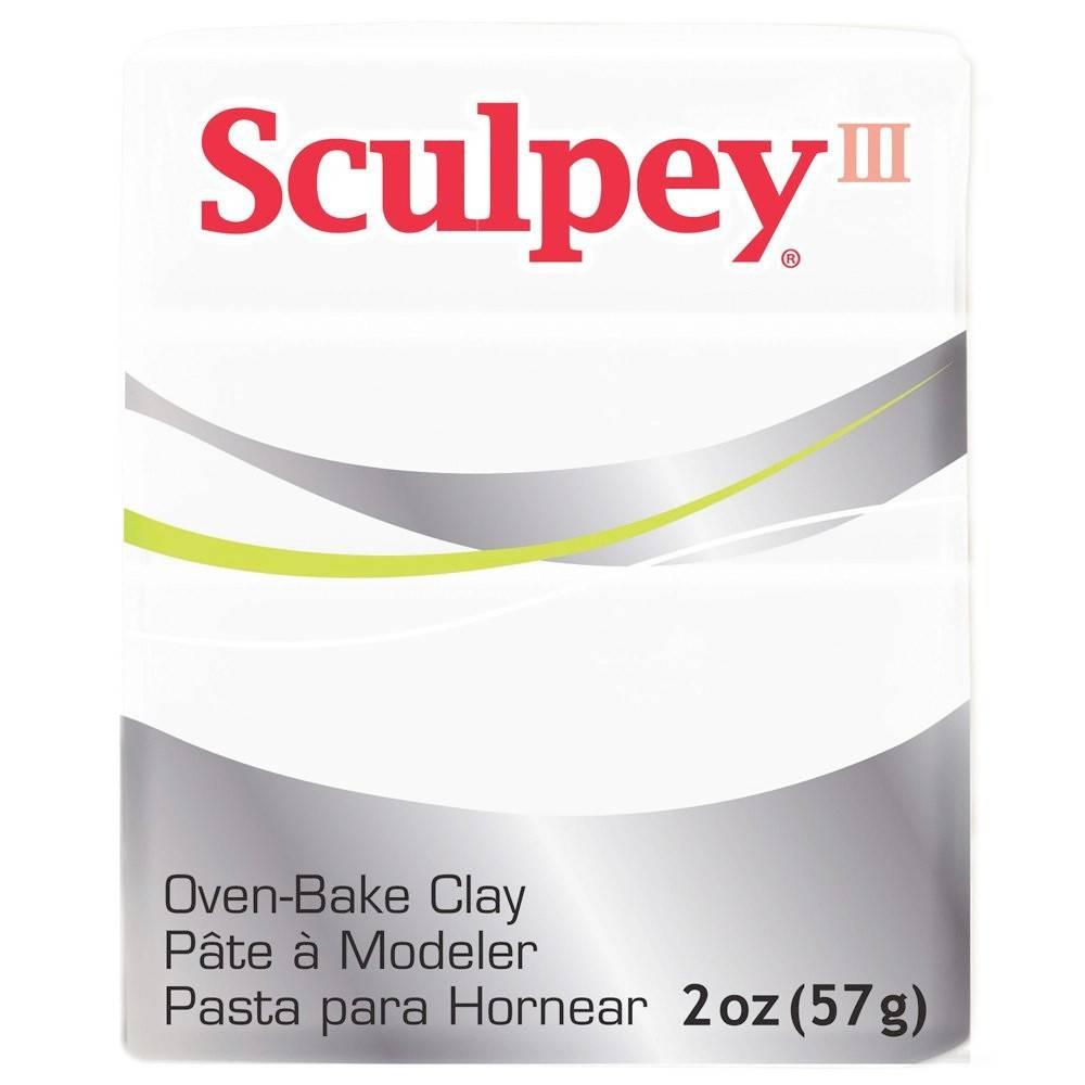 Polyform Sculpey III White 2oz