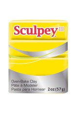 Polyform Sculpey III Yellow 2oz