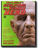 Sculpting The Human Head Mark Alfrey DVD