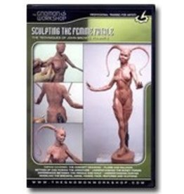 Gnomon Workshop Sculpting Femme Fatale John Brown DVD #6