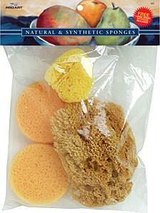 Silk Set Natural Sponges