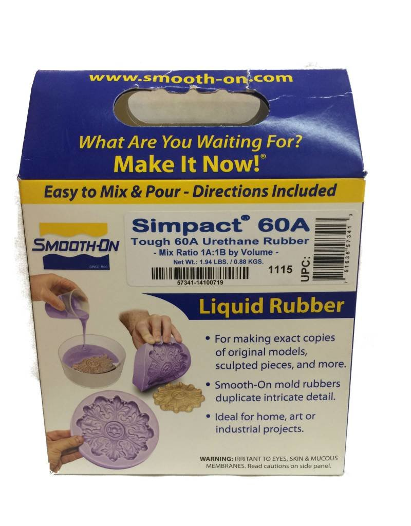 Smooth-On Simpact 60A Trial Kit (2lbs) Special Order