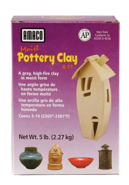 Amaco X-11 Gray Clay 5lbs