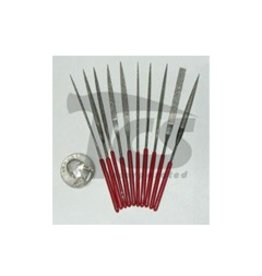 Small Diamond Needle File Set Fine 10pc