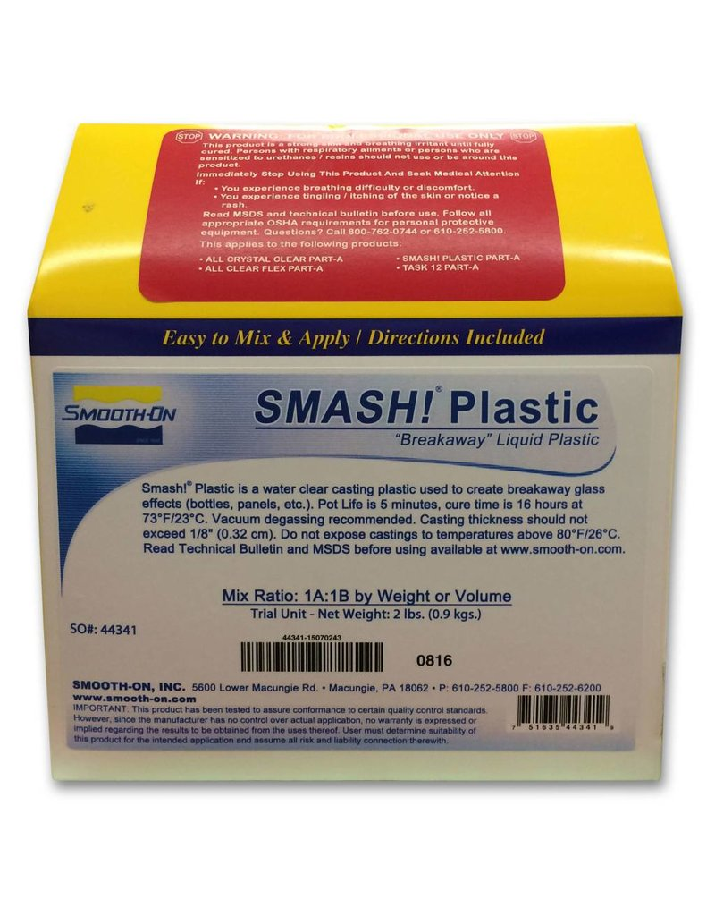 Smooth-On SMASH Plastic Trial Kit