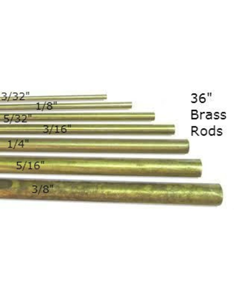 K & S Engineering Solid Brass Rod 1/8'' x 36'' #1162