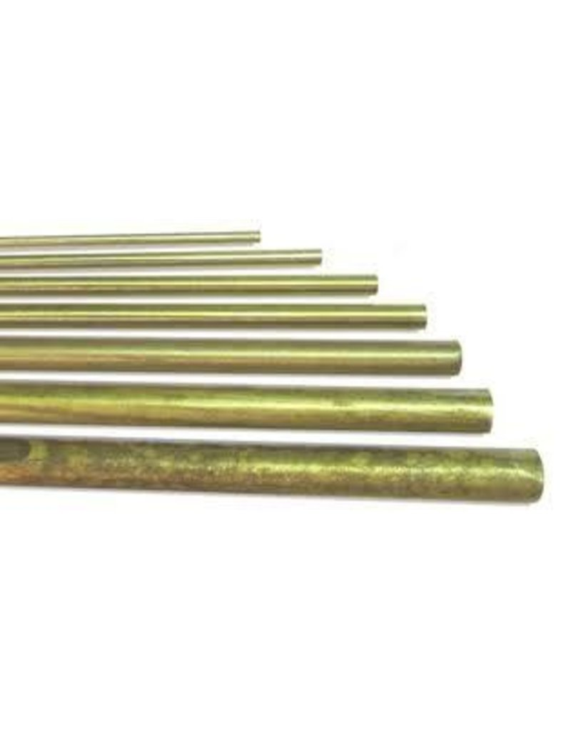 K & S Engineering Solid Brass Rod 5/32'' x 36'' #1163
