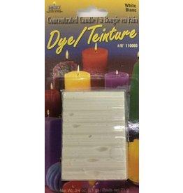 Yaley Enterprises Solid Wax Dye White