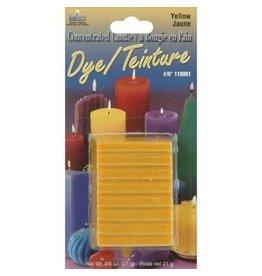 Yaley Enterprises Solid Wax Dye Yellow