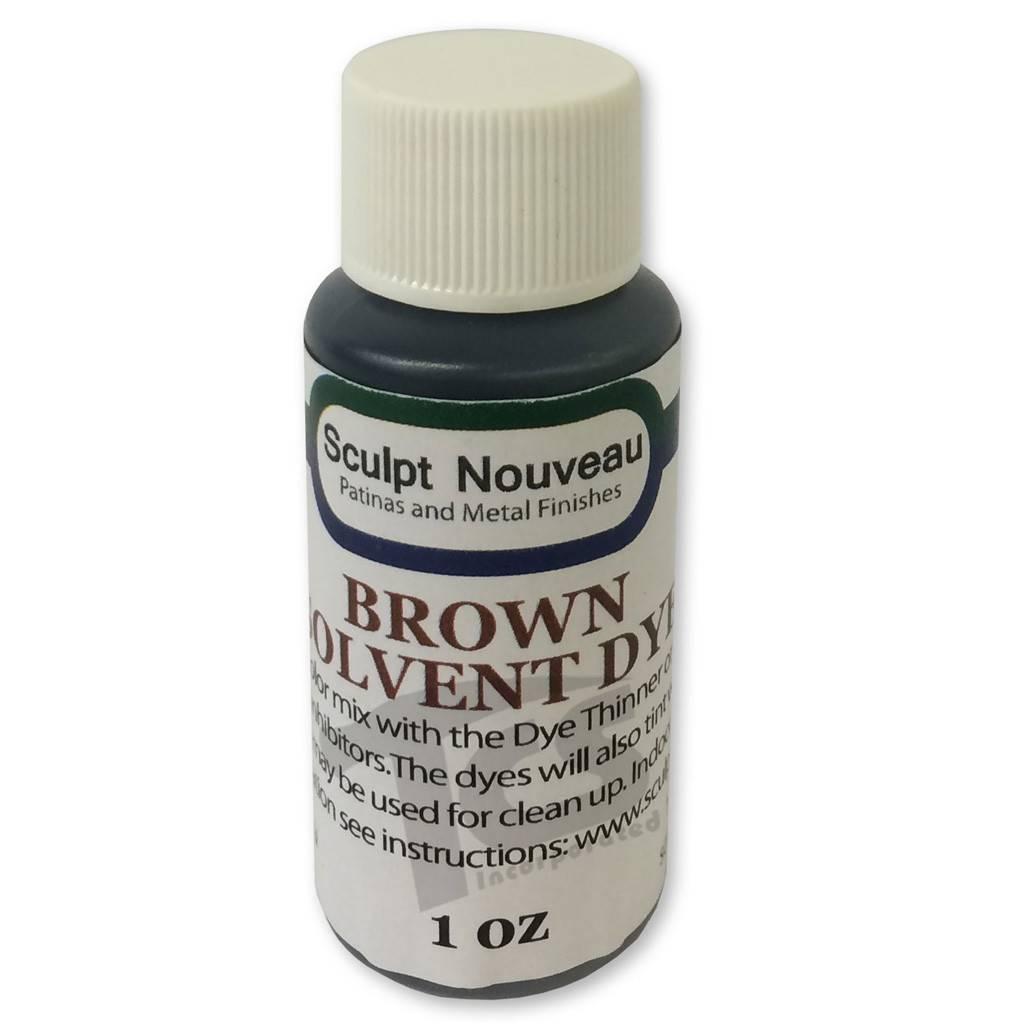 Sculpt Nouveau Solvent Dye Brown 1oz