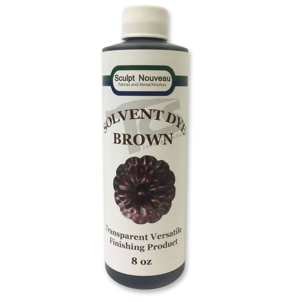 Sculpt Nouveau Solvent Dye Brown 8oz