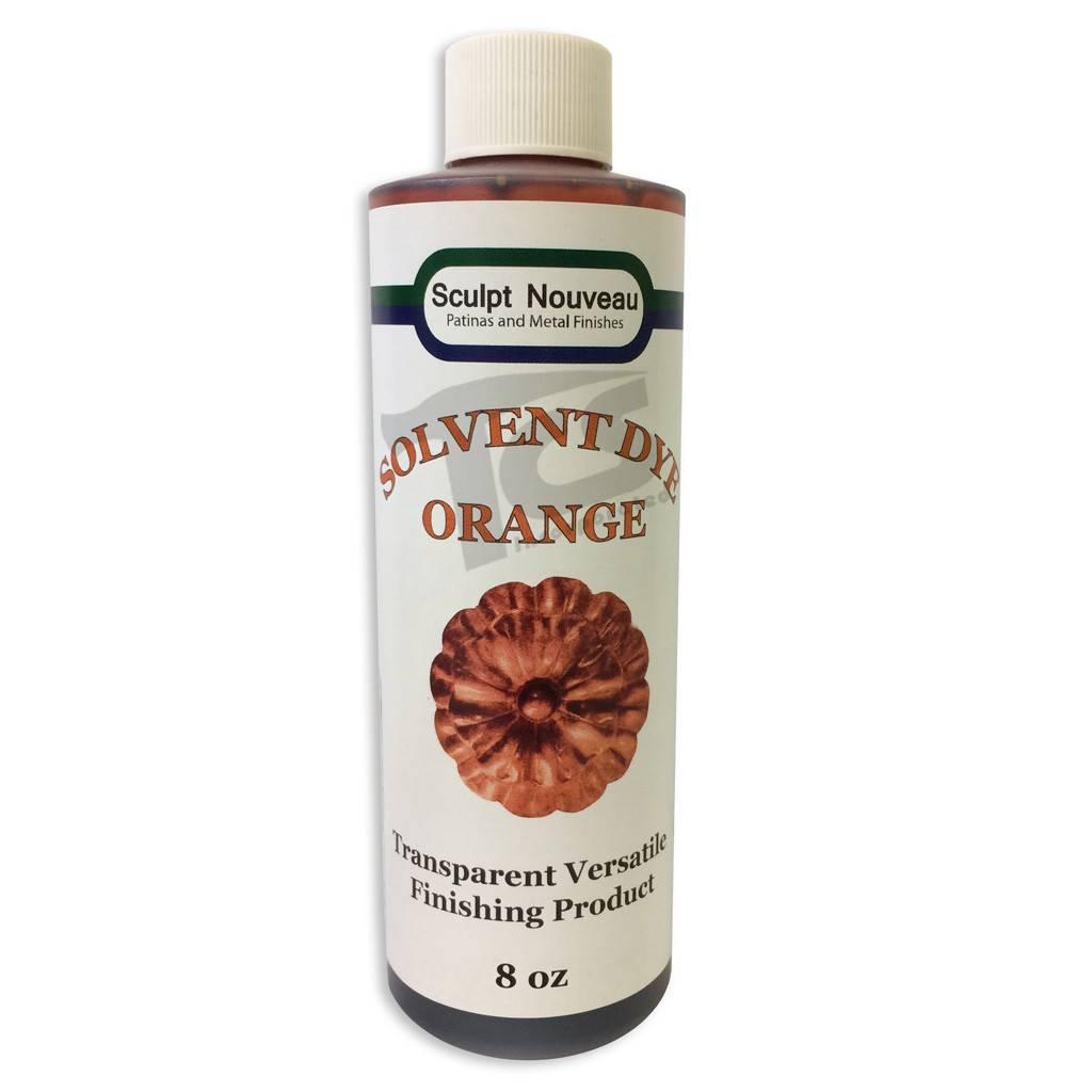 Sculpt Nouveau Solvent Dye Orange 8oz