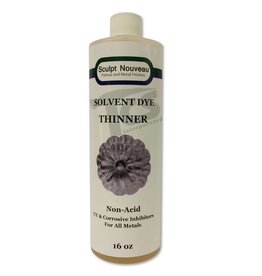Sculpt Nouveau Solvent Dye Thinner 16oz