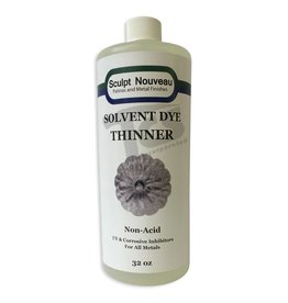 Sculpt Nouveau Solvent Dye Thinner 32oz