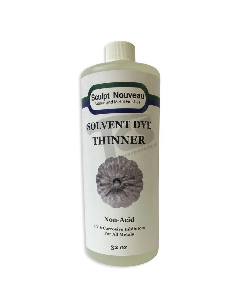 Sculpt Nouveau Solvent Dye Thinner 32oz