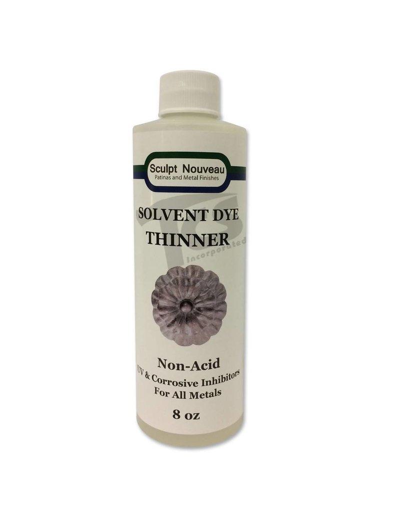 Sculpt Nouveau Solvent Dye Thinner 8oz
