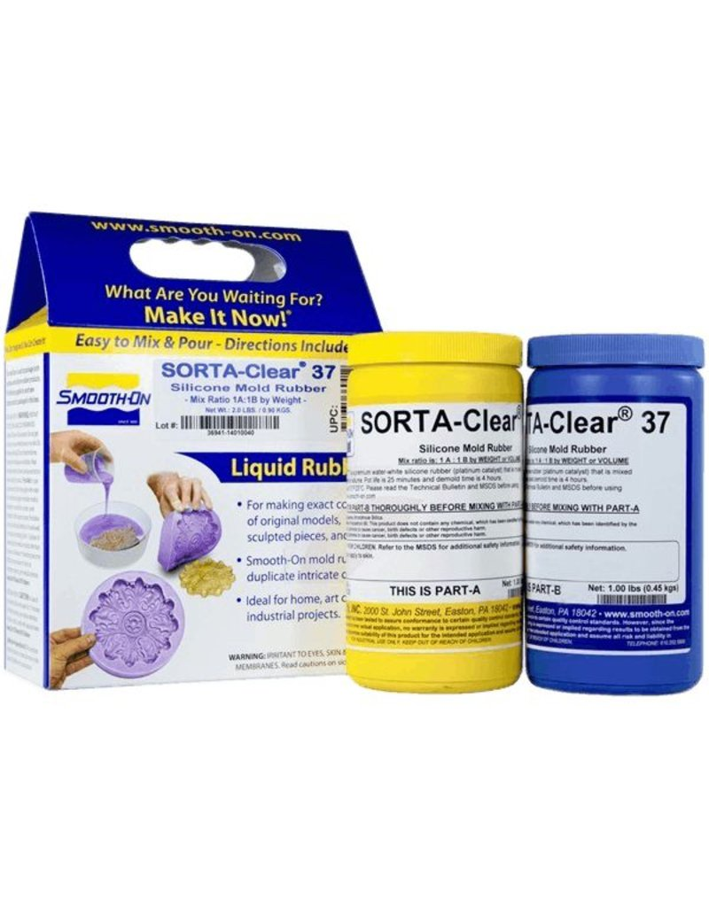 Smooth-On Sorta Clear 37 Trial Kit