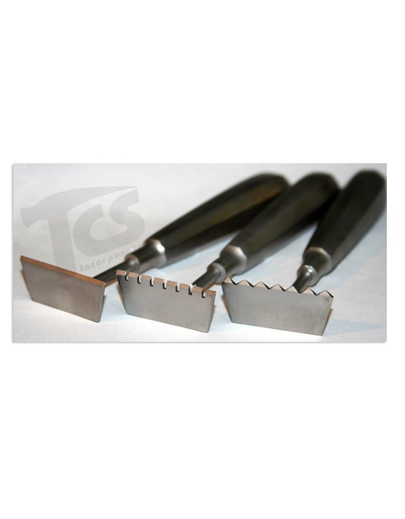 Just Sculpt Stainless Rake 1 3/4in Flat 432842001