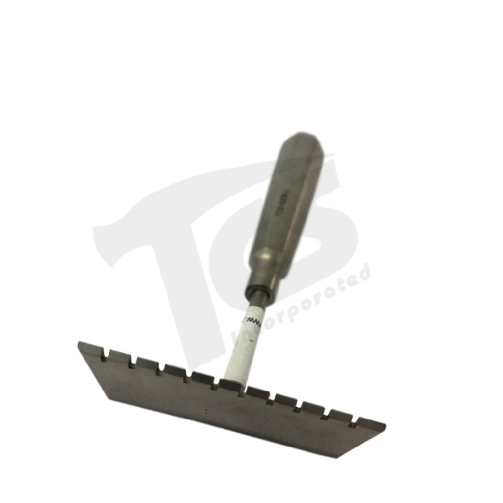 Just Sculpt Stainless Rake 2 1/2in Flat Teeth 432842012