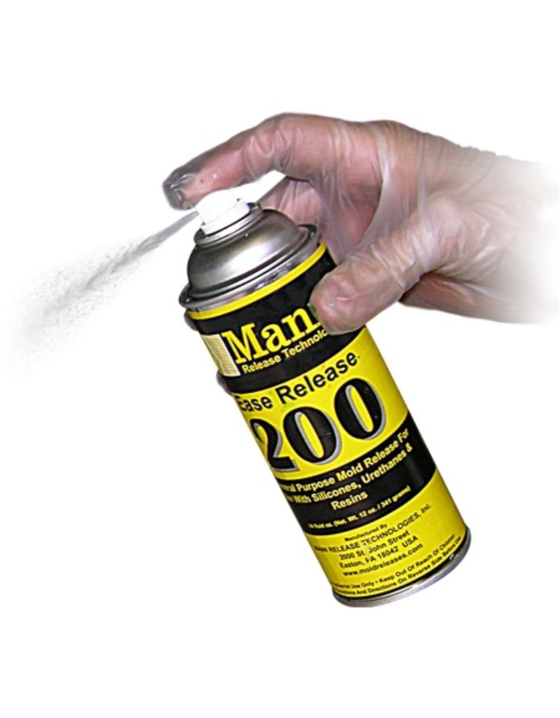 Smooth-On Mann Release 200 12oz Spray Can