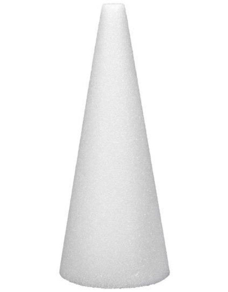 Styrofoam Cone 9''x3''