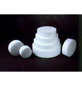 Styrofoam Disk 6''x3''
