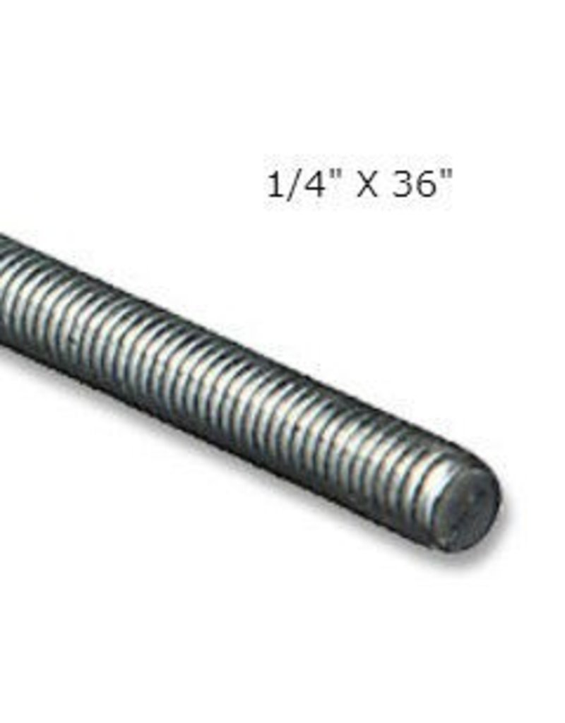 Threaded Rod 1/4'' x 36''