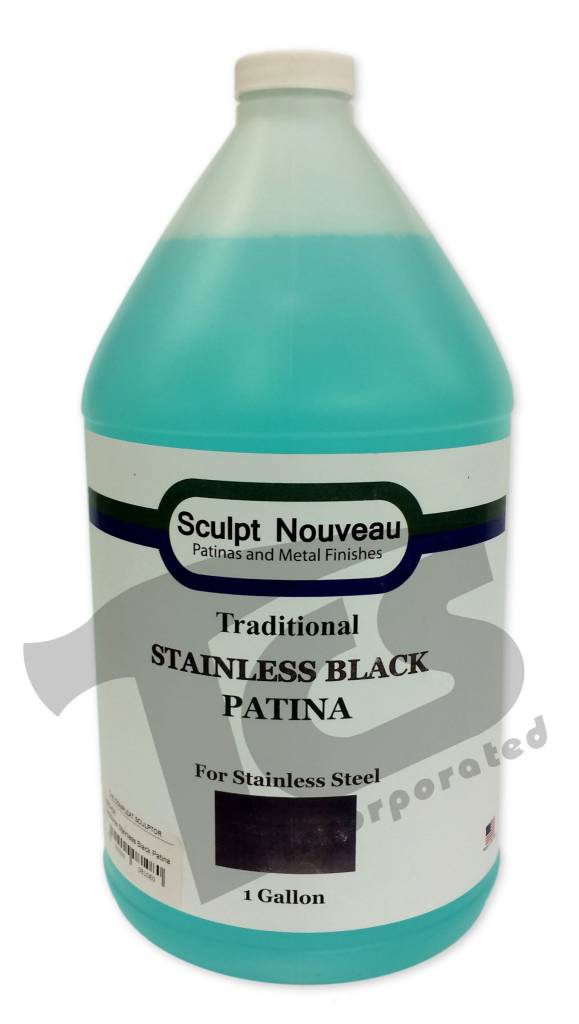 Sculpt Nouveau Traditional Stainless Black Patina Gallon