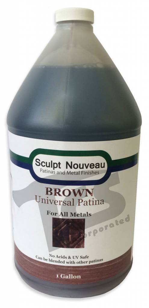 Sculpt Nouveau Universal Brown Patina Gallon