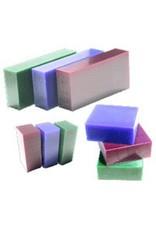 Du-Matt Corporation Carving Wax Bar Blue 1/2lb
