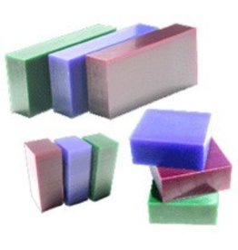 Du-Matt Carving Wax Bar Blue 1lb