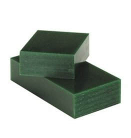 Du-Matt Corporation Carving Wax Bar Green 1lb