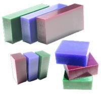 Du-Matt Corporation Carving Wax Bar Purple 1/2lb