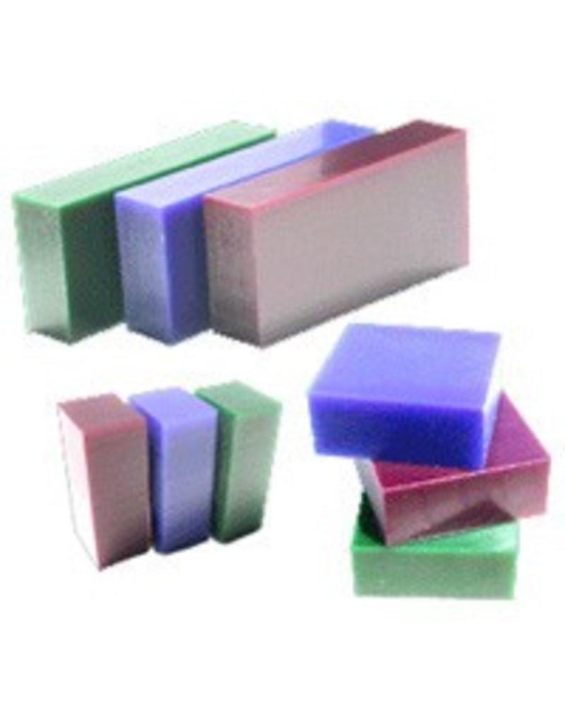 Du-Matt Corporation Carving Wax Bar Purple 1lb