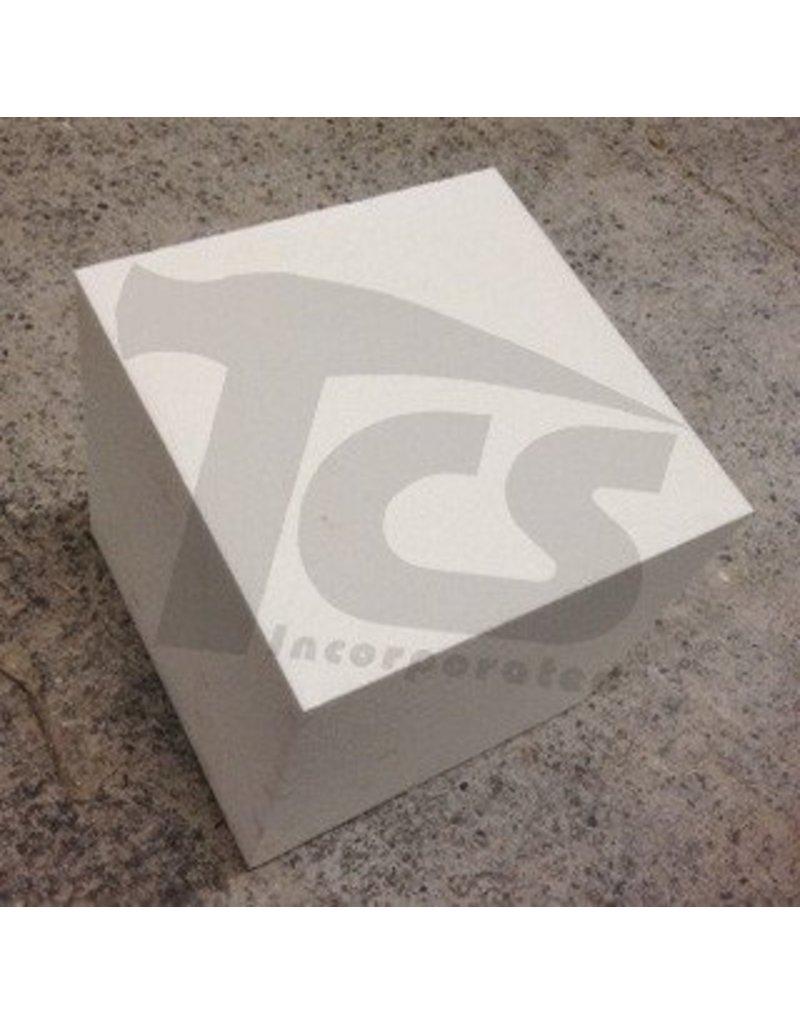 White Bead Foam (1.5lb) 12''x12''x12''