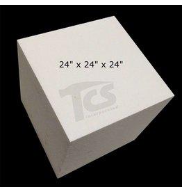 White Bead Foam 24''x24''x24''