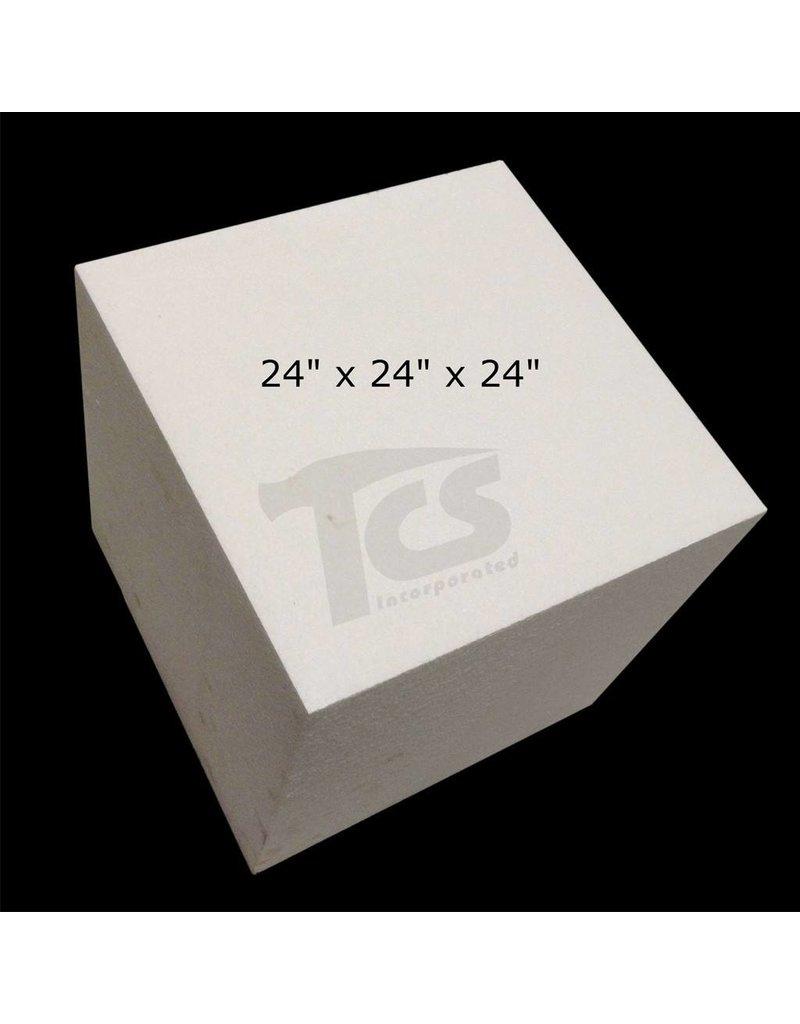 White Bead Foam (1.5lb) 24''x24''x24''