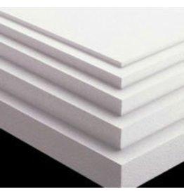 White Bead Foam 48''x24''x6''