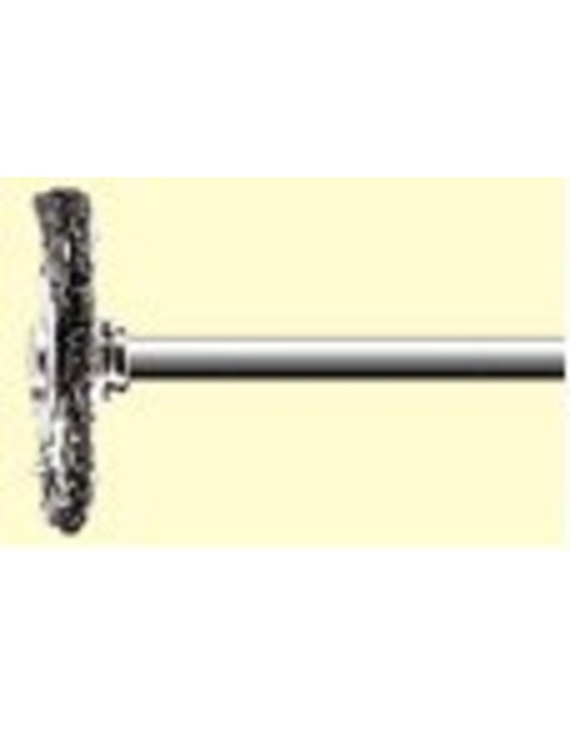 Dedeco International Wire Brush Wheel Set 2pc
