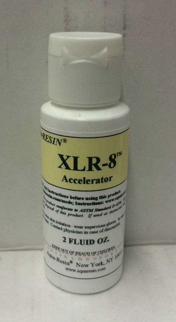 Aquaresin XLR-8 Accelerator 2oz Aqua-Resin