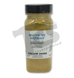 silicone art materials Dry Pigment Yellow Oxide 4oz