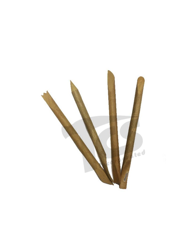 Sculpture House Inc. Tulon Set of Clay Tools (Set of 4)