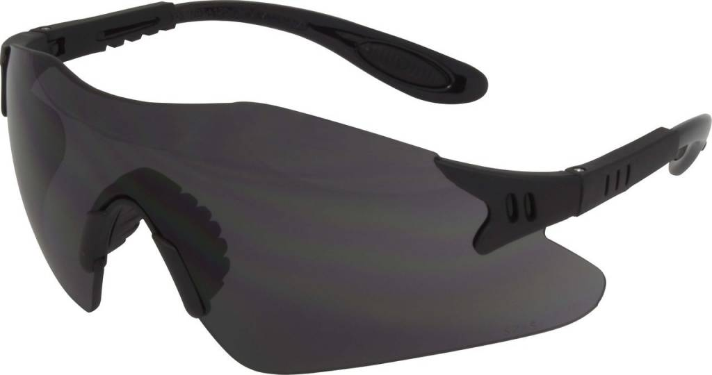 Safety Glasses Tinted Black