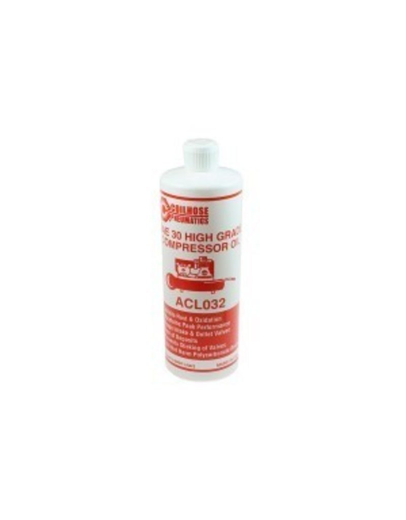 Coilhose Compressor Oil, 32 oz.